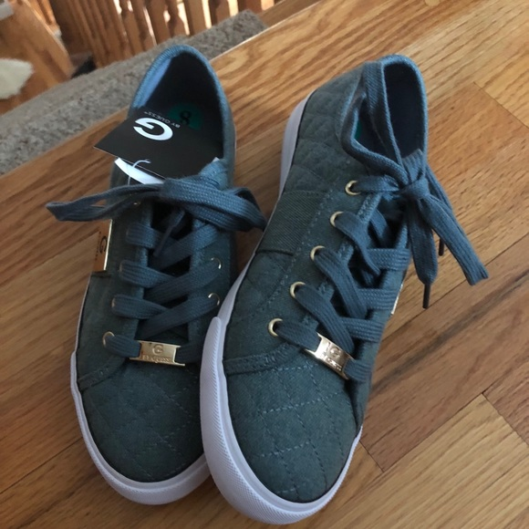 Trendy Guess Sneakers Light Blue 8 New